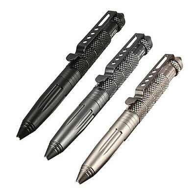 Aluminum Outdoor Survival Tactical Pen Glass Breaker Self Defense Camping Tools Collectibles