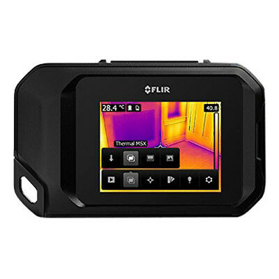 Flir C3 Compact Thermal Imaging Inspection Camera With Wi-fi Black 72003-0303