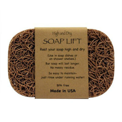 TAN SOAP LIFT SOAP DISH, THE BEST WAY TO KEEP YOUR SOAP FREE OF MUCK   - (Best Way To Tan)