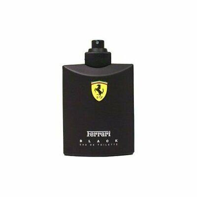 FERRARI BLACK 4.2 oz EDT eau de toilette Men's Spray Cologne New 125 ml TESTER