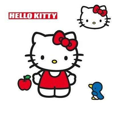 SANRIO Hello Kitty Wall Accent Classic Kitty Giant Decal