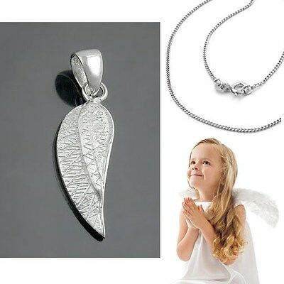 Kinder Baby Engelflügel Anhänger Schutzengel Engelsflügel mit Kette - Baby Engel Mit Flügeln