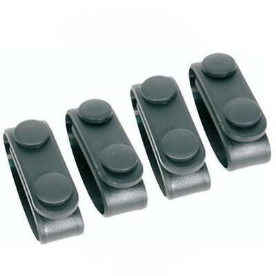 Blackhawk 44b300bk Black Duty Gear Molded Tactical Belt Keepers