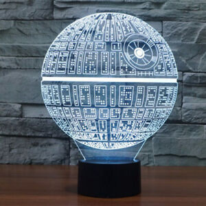 3D Milenium Star color changing lamp 100% NEW