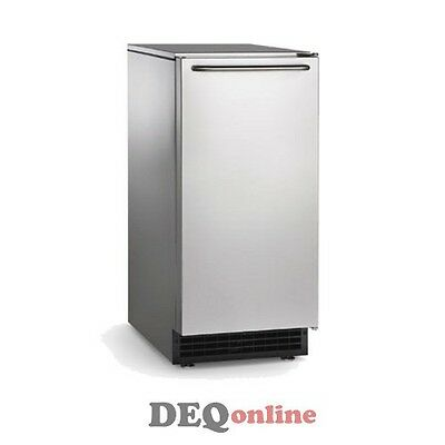 Scotsman Cu50ga-1a Undercounter Ice Maker W Bin 50 Lbs A Day Gourmet Ice