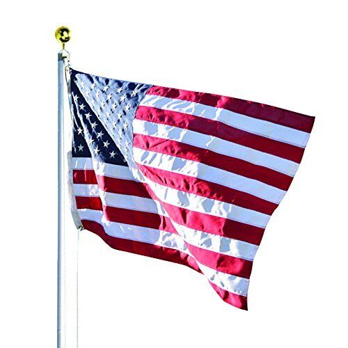 Valley Forge Flag 20 FT Duratex Commercial Grade US American