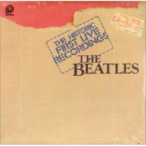 the beatles the historic first live recordings - winyl