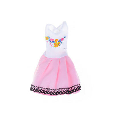 Beautiful Handmade Fashion Clothes Dress For  Doll Cute Lovely Decor TO