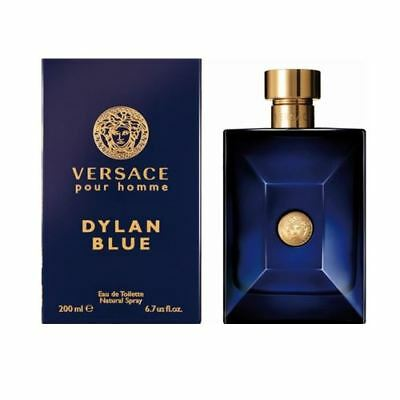 Versace Dylan Blue 200ml EDT Spray Retail Boxed Sealed