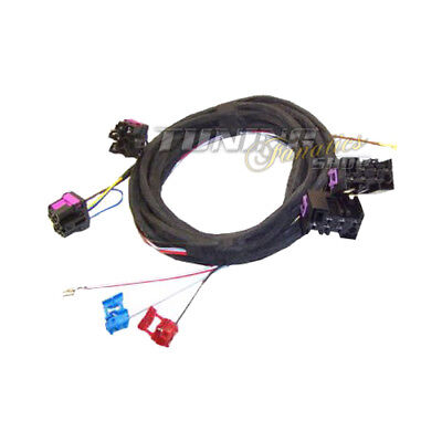 Wiring Loom Harness Cable Set Heated Seats Sh Adapter for Vw T5 Multivan Bus 7H