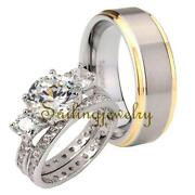 His and Hers Tungsten Wedding Rings