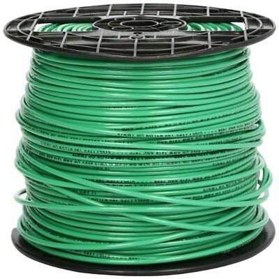 Southwire 22968201 Stranded Thhn 12 Gauge Building Wire 500-feet Green