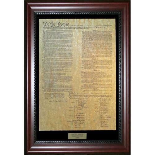 Framed Constitution Ebay