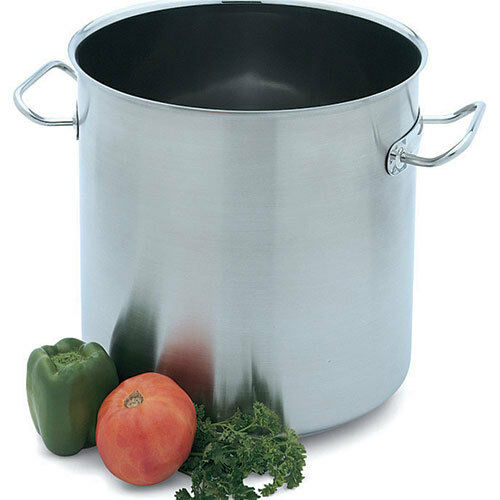 Vollrath 47722 Stock Pot - 18 Qt. Intrigue Stainless Steel