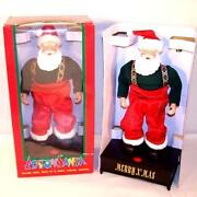 Battery Operated Santa Claus