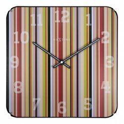 Boyle NeXtime Stylish Wall Indoor Clock Smithy Square Dome - Multi