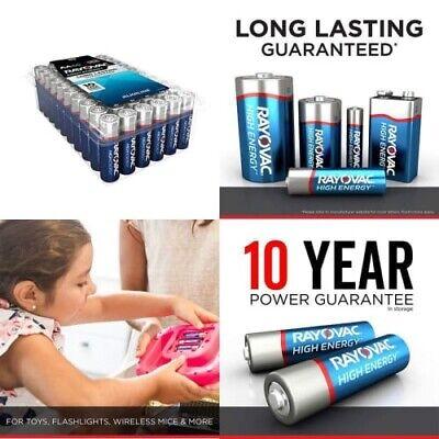 12 pack d high energy alkaline batteries