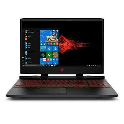 "HP OMEN 15.6"" Gaming Laptop i7-8750H 12GB RAM 1TB HD 128GB S"