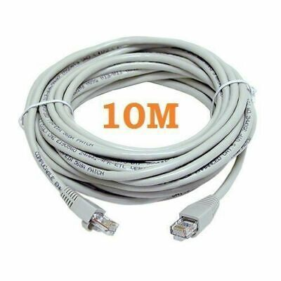 ETHERNET CABLE RJ45 NETWORK FAST INTERNET LEAD PREMIUM SPEED CAT5E 10 METER