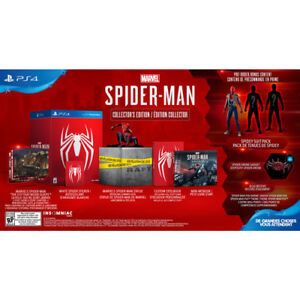 spider-man ps4 collector's edition sale or trade NOT THE CONSOLE