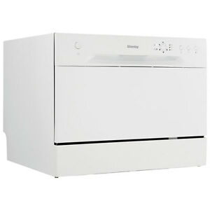 Danby DDW611WLED Countertop Dishwasher-White