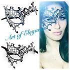 Womens Black Masquerade Mask