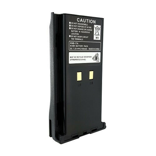 2100mAh Replacement KNB-17 Radio Battery for Kenwood TK-280 TK-380 TK-390 Models