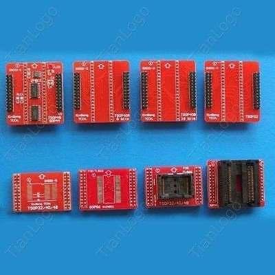 8 Adapters Set Tsop324048sop44sop56 Adapters For Tl866cstl866a Programmer
