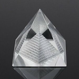 1Pcs Crystal Pyramid Egypt Egyptian Clear Quartz Stone Orgone Healing Large