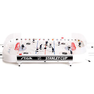 Stiga NHL® Stanley Cup Table Hockey Game and Stiga Game Stand