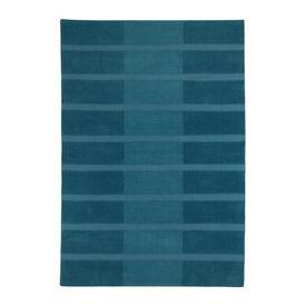Large blue IKEA rug HELLUM 140x200cm £12 bargain