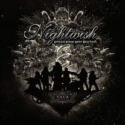 Nightwish   Endless Forms Most Beautiful Tour Edition  New Cd  Ltd Ed