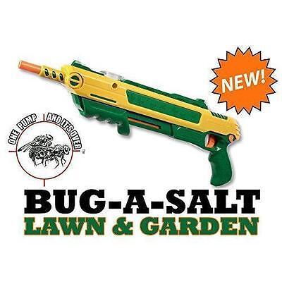 Authentic BUG-A-SALT LAWN&GARDEN 2.0 Gun Fly Swatter Insect Garden Pest Control