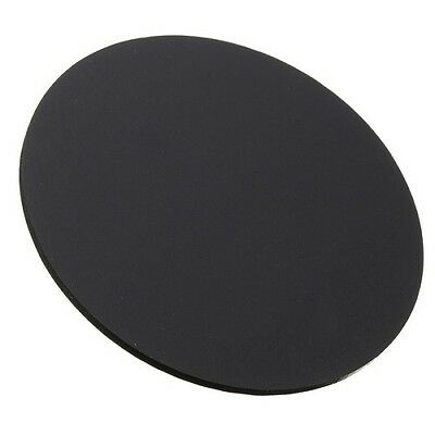 2 Pack Black Abs Round Paintable Plastic Sheet - 15 Diameter X 0.125 Thick