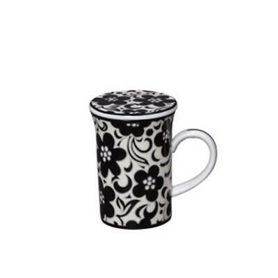 VERA BRADLEY COFFEE TEA MUG cup DAY NIGHT gift box NIB