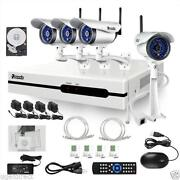 Wireless HD Security Camera System
