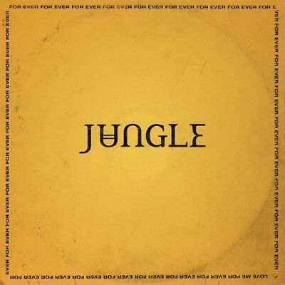 JUNGLE FOR EVER NEW SEALED LIMITED EDITION YELLOW VINYL LP IN STOCK