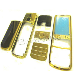 For-Nokia-6700c-6700-Classic-Metal-Fascia-Housing-Back-Cover-Screen-Lens-GOLD