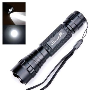 UltraFire 1000Lm Lumens WF-501B CREE XM-L T6 LED Compact Flashlight Torch Lamp