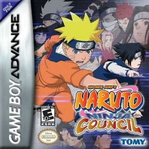 Naruto: Ninja Council Nintendo Game Boy Advance Cartridge