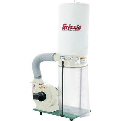 G1029z2p Grizzly 2 Hp Dust Collector With Aluminum Impeller - Polar Bear Series
