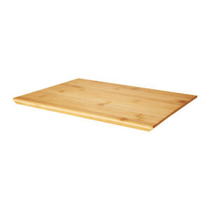 Wooden Bamboo Kitchen Chopping Cutting Board Serving Tray 33x22cm IKEA NEW