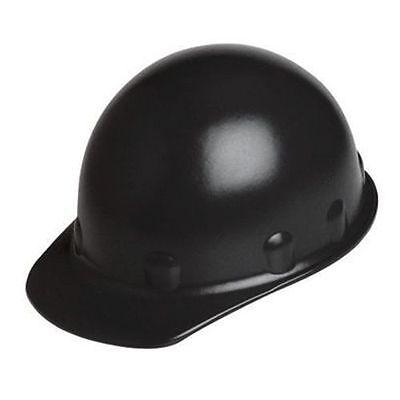 Fibre-metal Supereight E2rw Black Thermoplastic Cap 8-pt Suspension Hard Hat