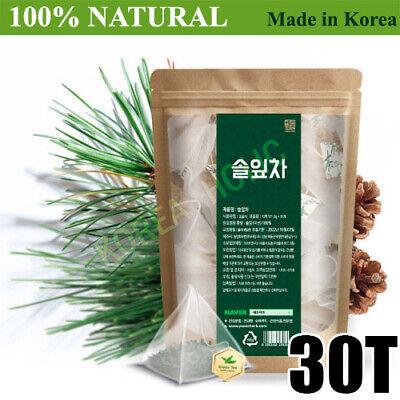 100% Natural Pine Needle Tea Medicinal Herbal 30T Bags Medicinal Korean Herbal