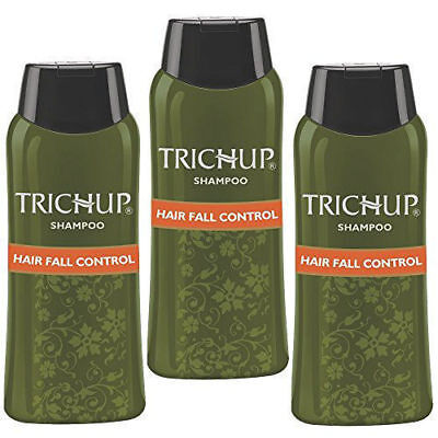 Trichup Hair Fall Control Shampoo 200 ML BEST FOR HAIR FALL ( pack of 3 ) (Best Shampoo For Hair Fall Control)