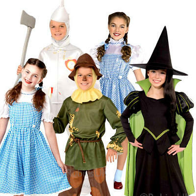 Wizard of Oz Kids Fancy Dress Book Week Fairytale Boys Girls Childrens Costume](Boys Wizard Of Oz Costumes)