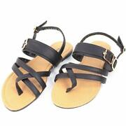 Rhinestone Gladiator Sandals