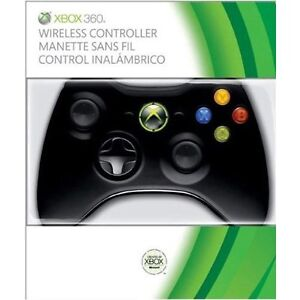 NEW Microsoft Xbox 360 Wireless Controller - Black NSF-00001 OEM