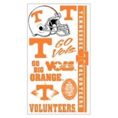 (Tennessee Volunteers Temporary Tattoos)