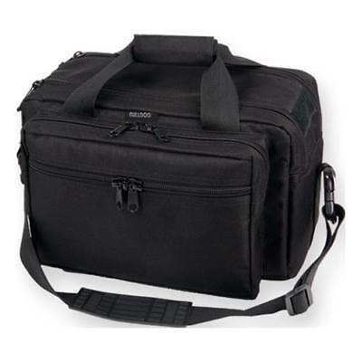 Bulldog Cases X-Large Deluxe Black Range Bag with Pistol Rug
